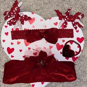 Other - Valentines Bundle of Hair Accessories One Size